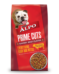 Purina Alpo Prime Cuts Savory Beef Flavor - 4 Lbs (CASE)