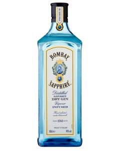 Bombay Sapphire Gin - 1 Ltr (Piece)