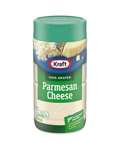 Kraft 100% Grated Parmesan Cheese - 8 OZ (CASE)