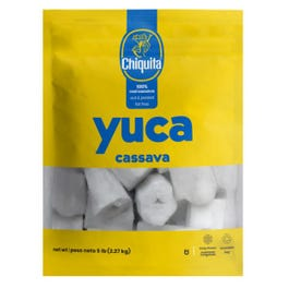 Chiquita Yuca Cassava - 5 Lbs (CASE)