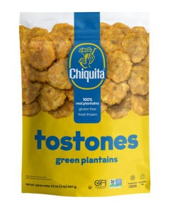 Chiquita Tostones Green Plantains - 2 Lbs (CASE)