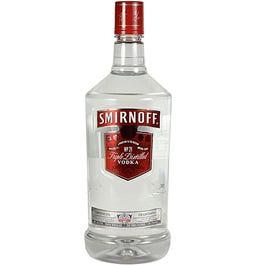 Smirnoff Vodka - 1.75 LTR (Piece)