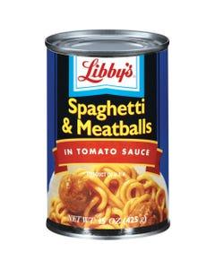 Libby's Spaghetti & Meatballs - 15 OZ (CASE)