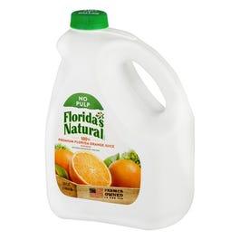 Florida's Natural No Pulp Orange Juice - 128 oz (Piece)