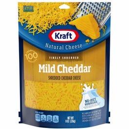 Kraft Finely Shredded Mild Cheddar Cheese - 8 OZ (Piece)
