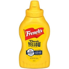 FRENCH'S MUSTARD YELLOW SQUEEZ - 8 OZ