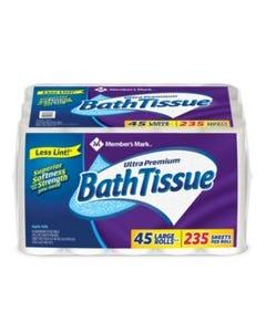 Member's Mark Ultra Premium Bathroom Tissue - 45 Mega Rolls (Piece)
