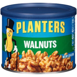 Planters Walnuts, Canister - 7.25 oz