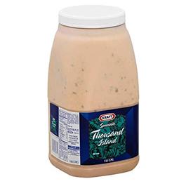Kraft Thousand Island Spoonable Dressing - Gallon (Piece)