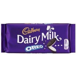 Cadbury Oreo Chocolate Bar - 120 Grams