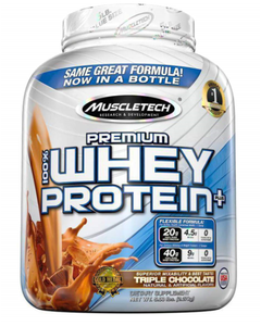 MuscleTech Premium 100% Whey Protein, Chocolate - 5 lbs. (Piece)