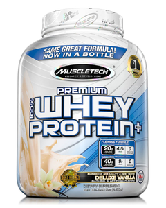 MuscleTech Premium 100% Whey Protein, Vanilla - 5 lbs. (Piece)