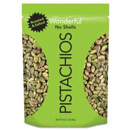 Wonderful Pistachios Shelled, Roasted and Salted - 24 oz. (Piece)