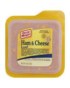 OM HAM-CHEESE LOAF - 8OZ (CASE)