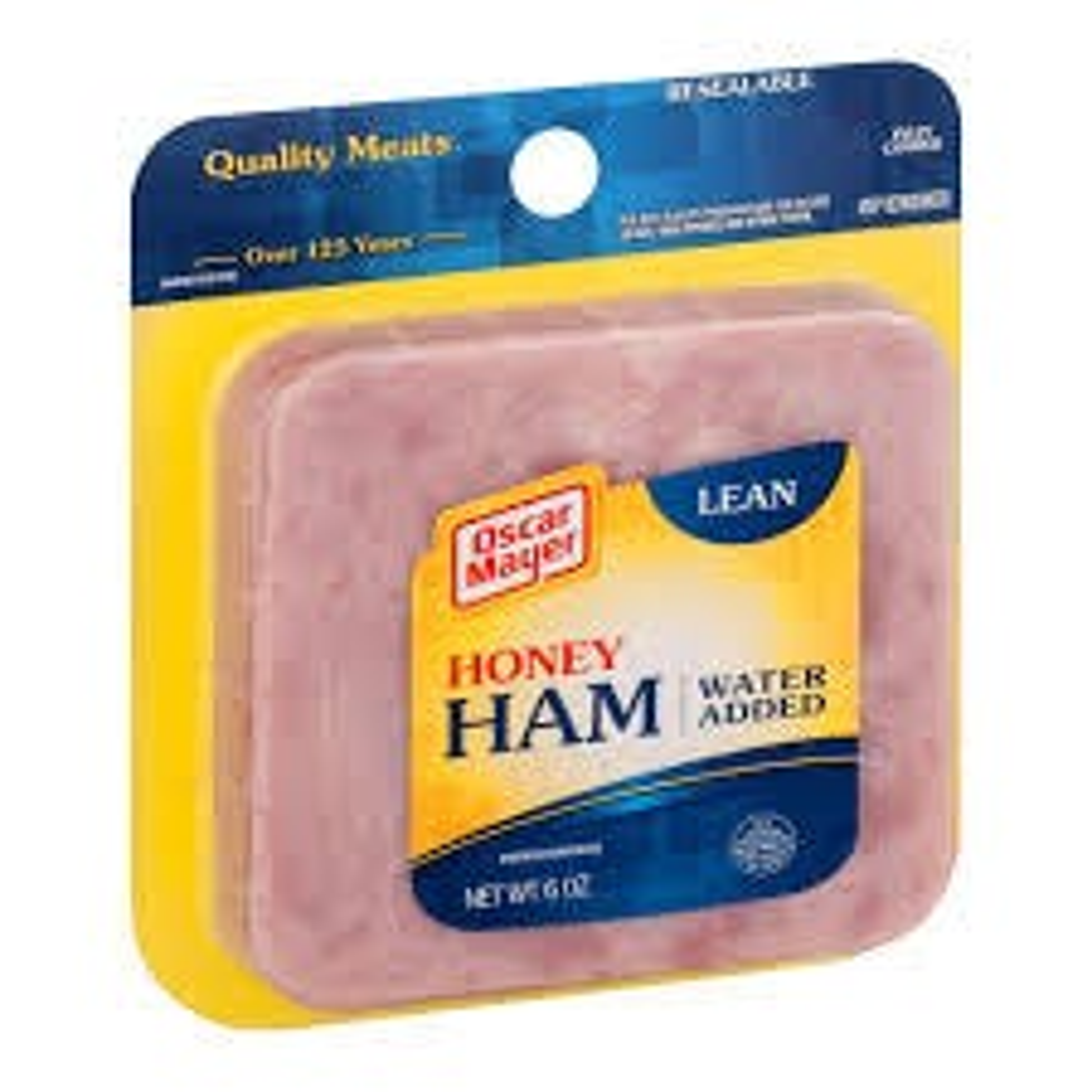 Oscar Mayer Honey Ham - 6 OZ