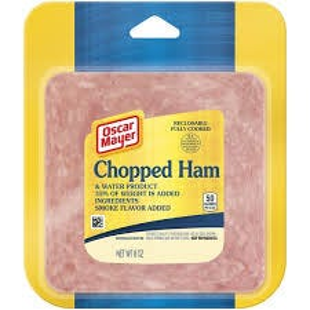 Oscar Mayer Chopped Ham - 8 OZ (CASE)