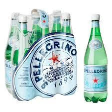 San Pellegrino Water, Plastic  - 6/1 Ltr