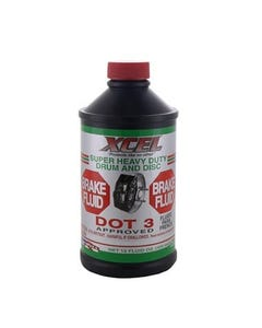 XCEL BRAKE FLUID 12X12 OZ (CASE)
