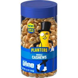 Planters Cashew Fancy Nuts - 6 oz. (CASE)