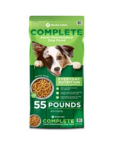 Member's Mark Complete Adult Maintenance Dry Dog Food - 55 Lbs (Piece)