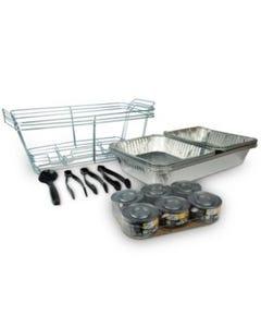 MM PARTY SET 3PC FOOD SERVING - 24 pcs (Piece)