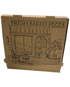 "Gordon Choice Kraft Pizza Boxed 12"" x 12"" x 1.875""  - 50cnt (Piece)"