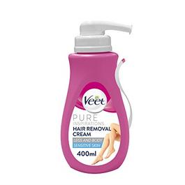 Veet Spray-On Hair Removal Cream For Sensitve Skin - 400 ML (CASE)
