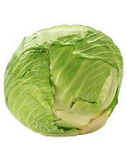 Fresh Green Cabbage (East) - 16/50 Lbs (CASE)