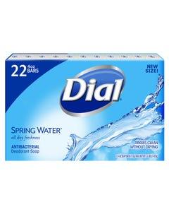 Dial Spring Water Antibacterial Deodorant Bar Soap - 22 Bars (Piece)
