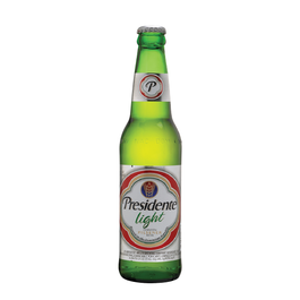 Presidente Light Beer Bottle  - 330ml