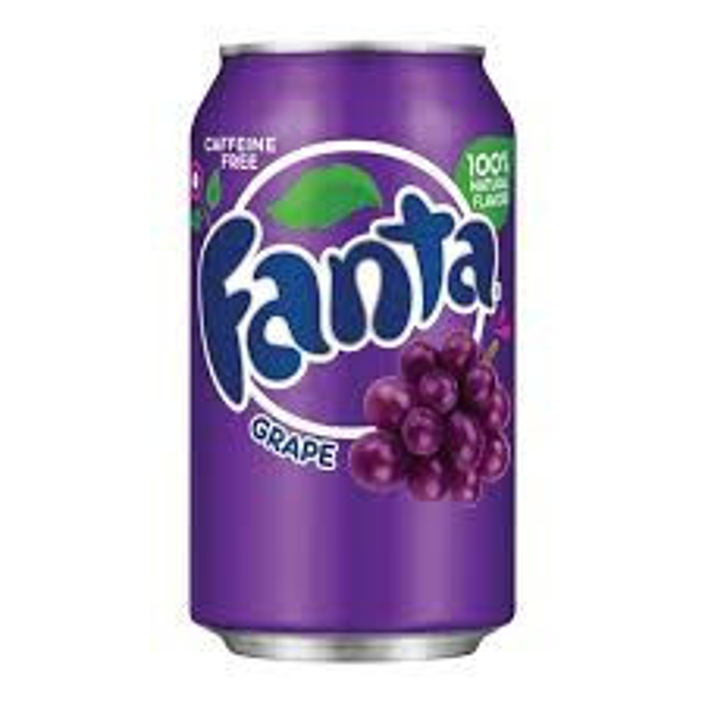 Fanta Grape Soda, Can - 11.5 oz