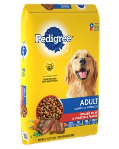 Pedigree Complete Nutrition Adult Dry Dog Food - 17 lb. Bag (Piece)