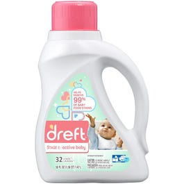 DREFT LIQ HE ACTIVE BABY 50OZ (CASE)