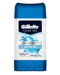 Gillette Clear Gel Artic Ice Anti-Perspirant and Deodorant - 3.8 oz (PACK OF 3)