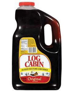 Log Cabin Original Pancake Syrup - 1 Gal