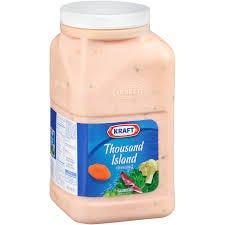 Kraft Thousand Island Dressing - Gallon (Piece)