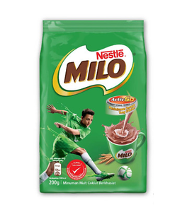 Nestle Milo Activ-Go Soft Pack Powder - 200 Grams (CASE)