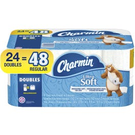 Charmin Ultra Soft Toilet Paper, 24 Double Rolls - 24 DR (Piece)