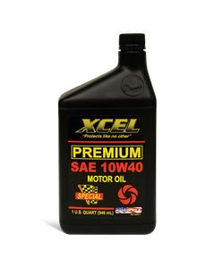 XCEL Premium SAE 10W-40 Motor Oil - 32 OZ