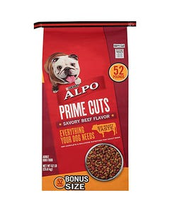 Purina Alpo Prime Cuts Savory Beef Flavor - 52 Lbs (Piece)