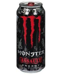 MONSTER 101915 ASSAULT - RED - 473 ml