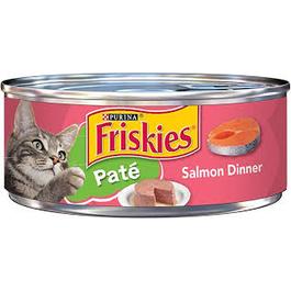 Purina Friskies Pate Salmon Dinner Wet Cat Food - 5.5 oz
