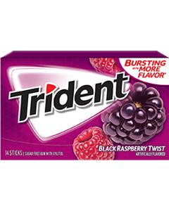 TRIDENT ENV BLACK RASPBERRY (1 - 12's (Piece)