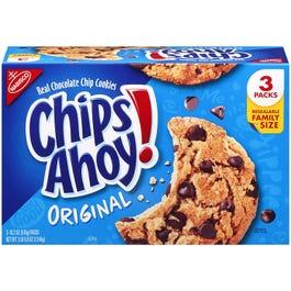 Nabisco Chips Ahoy Cookies - 3PK/18.2 OZ (Piece)