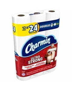 Charmin Ultra Strong 12 Double Rolls - 4 pks (CASE)