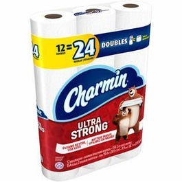 Charmin Ultra Strong 12 Double Rolls - 4 pks (CASE)