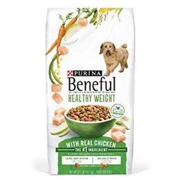 Purina Beneful Healthy Puppy Dry Dog Food Healthy Weight- 31.1 lb (Piece)