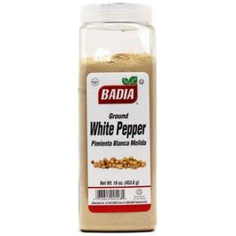 Badia White Pepper Ground- 16OZ (Piece)