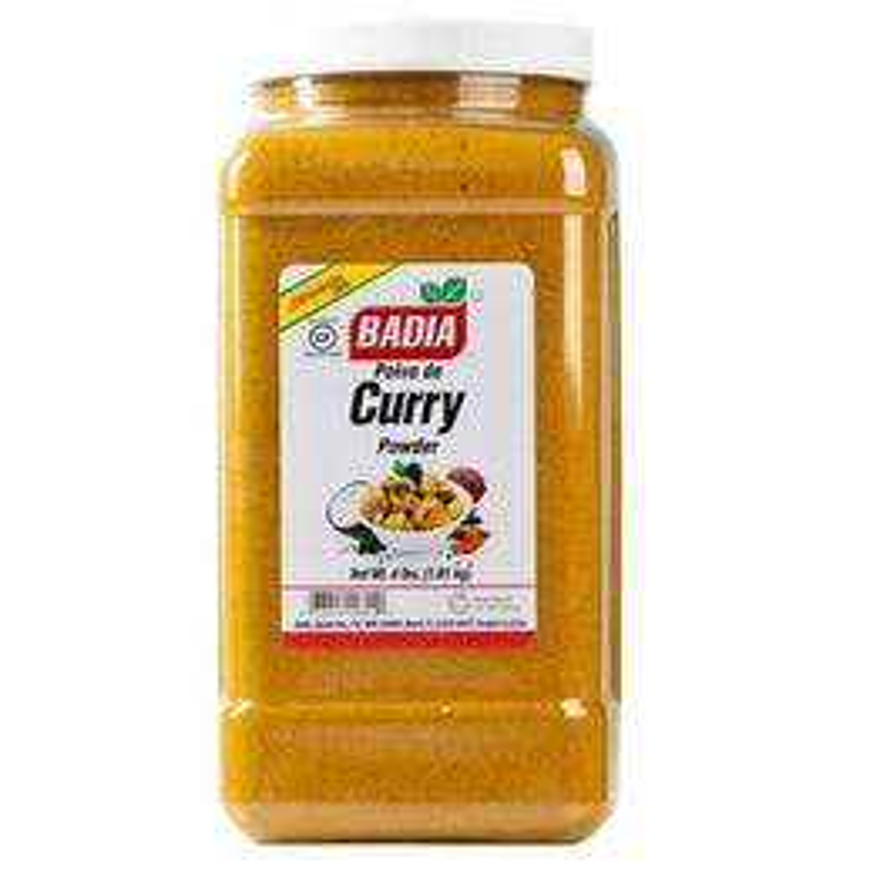 Badia Curry Powder- 4 LB (Piece)