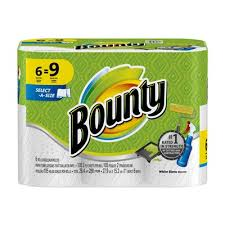 Bounty Select-A-Size Paper Towels White - 6 Rolls (Piece)
